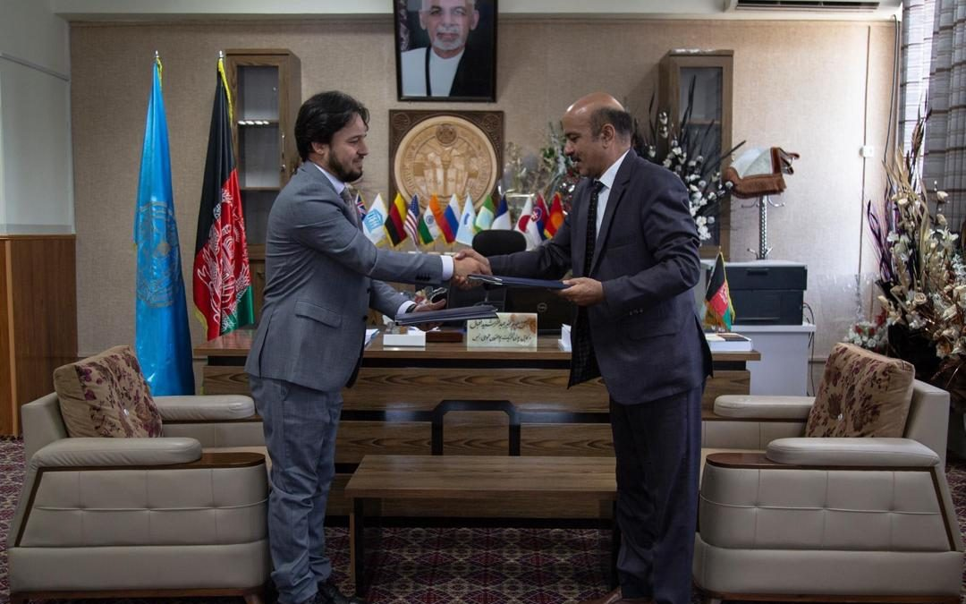 Dynamic Vision has extended its support to Kabul Polytechnic University through signing an MoU