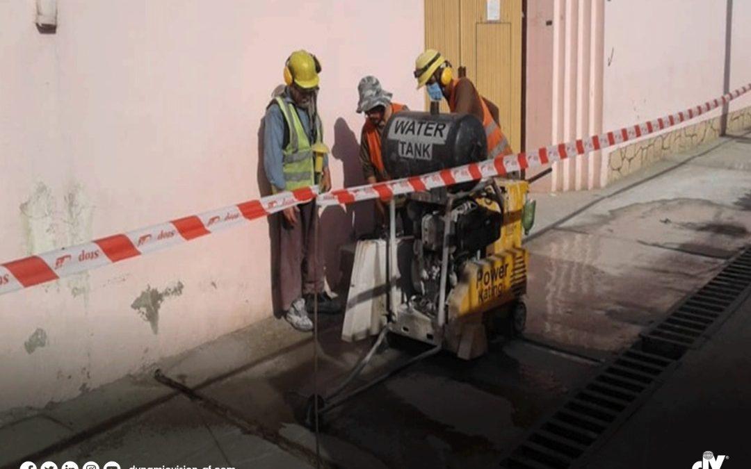 Construction phase of Abdul Rahim Shaheed and Zainab Kubra water towers are progressing well.