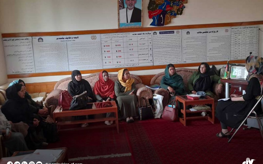 Dynamic Vision has successfully conducted stakeholder engagement meeting and focus group discussions in 22 districts of Kabul city